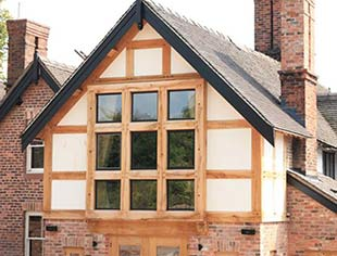 Carvalo Oak Framed Orangeries