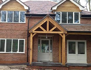 Carvalo Oak Framed Porches
