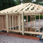 Construction Process for Oak Frames